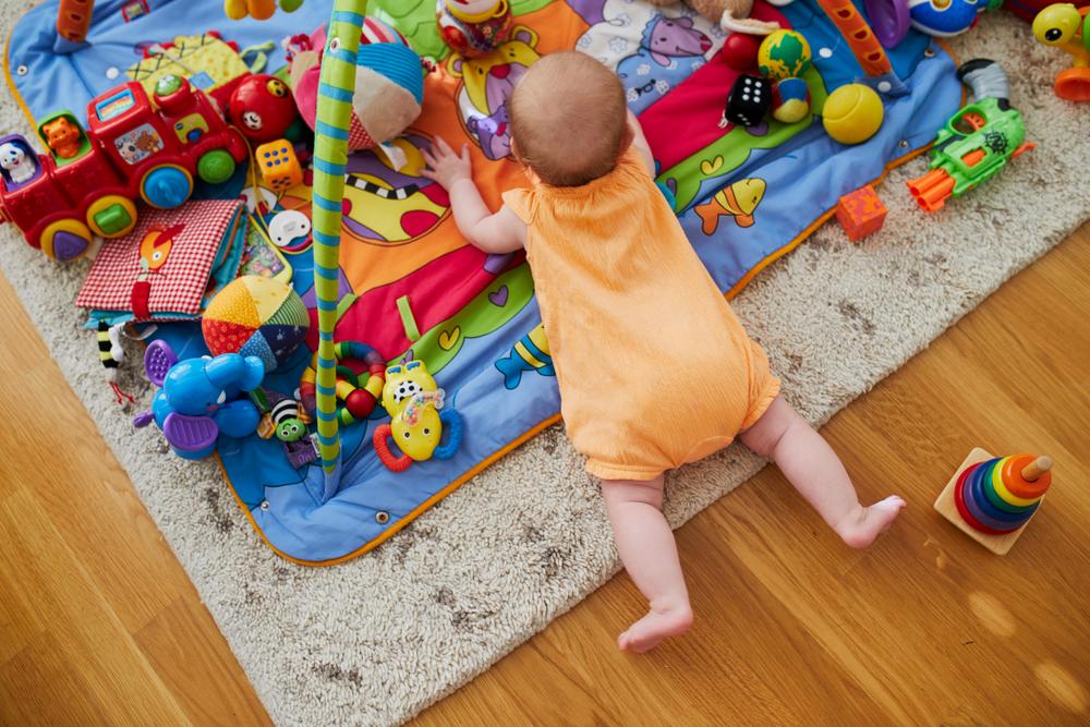 Rekomendasi Mainan Bayi Umur 3 Bulan
